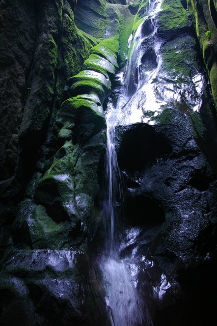 Velký vodopád - Adršpach