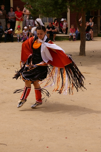 indiánský tanec