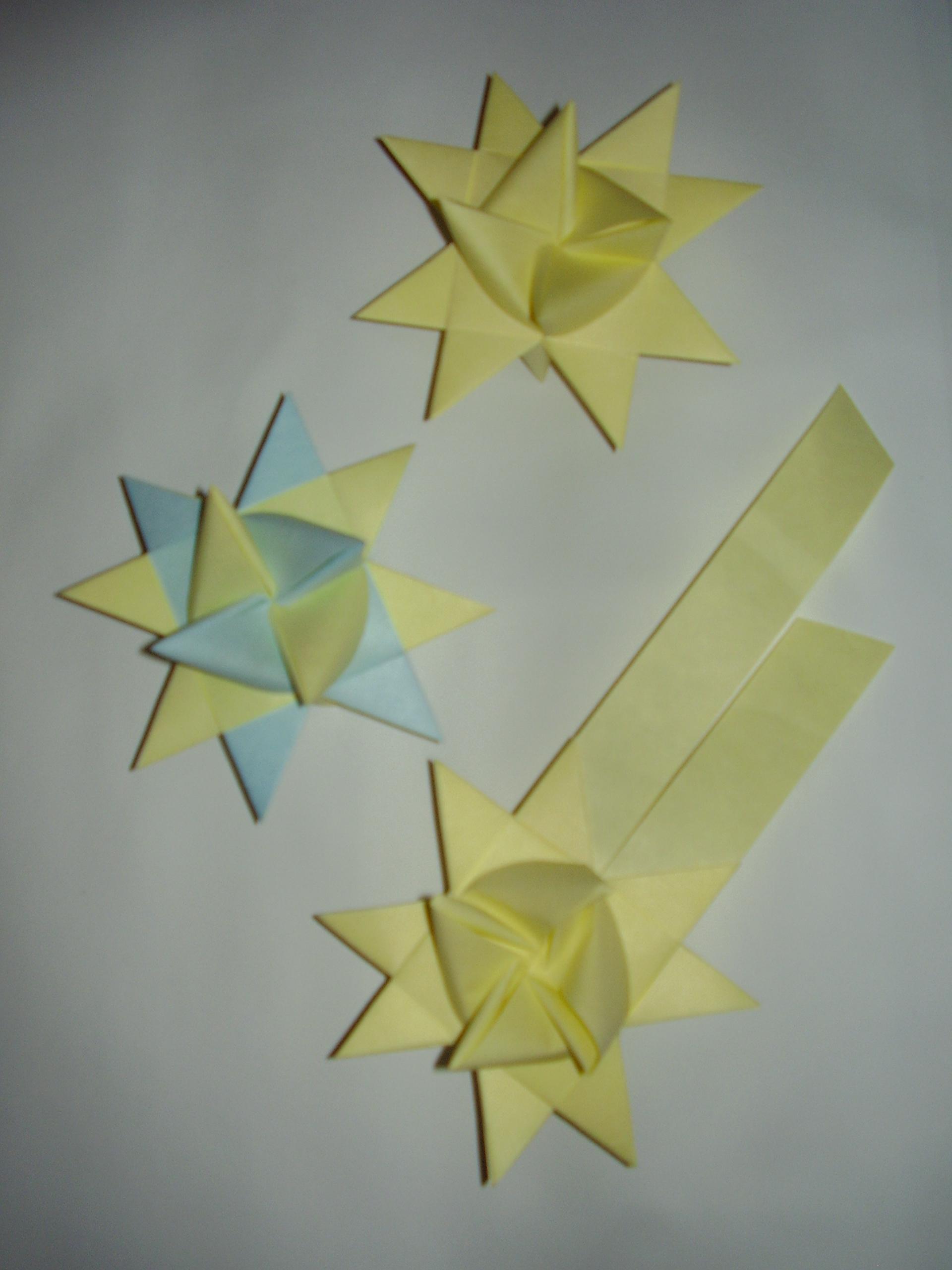 hvězdy a kometa