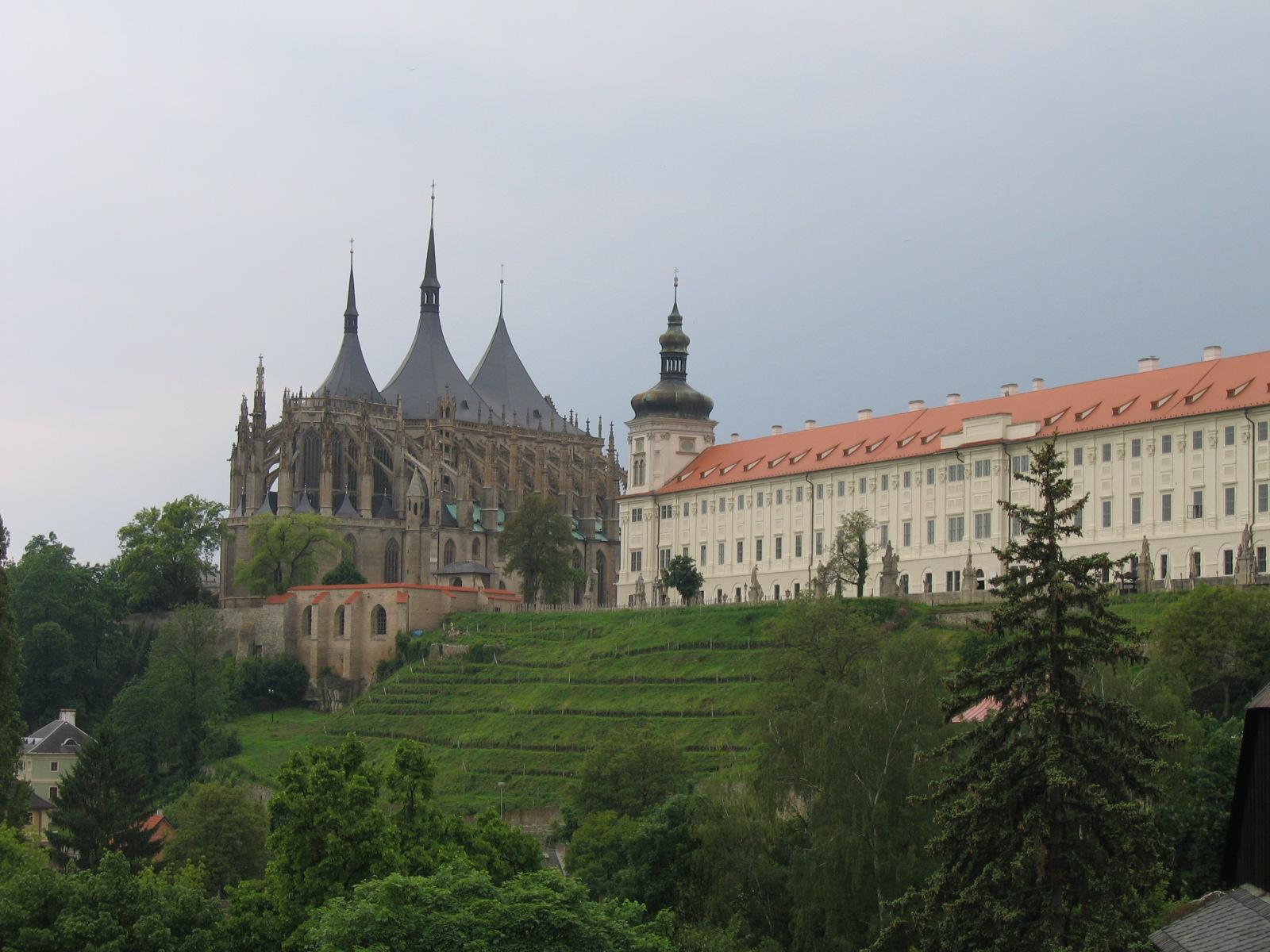 chrám svaté Barbory s jezuitskou kolejí