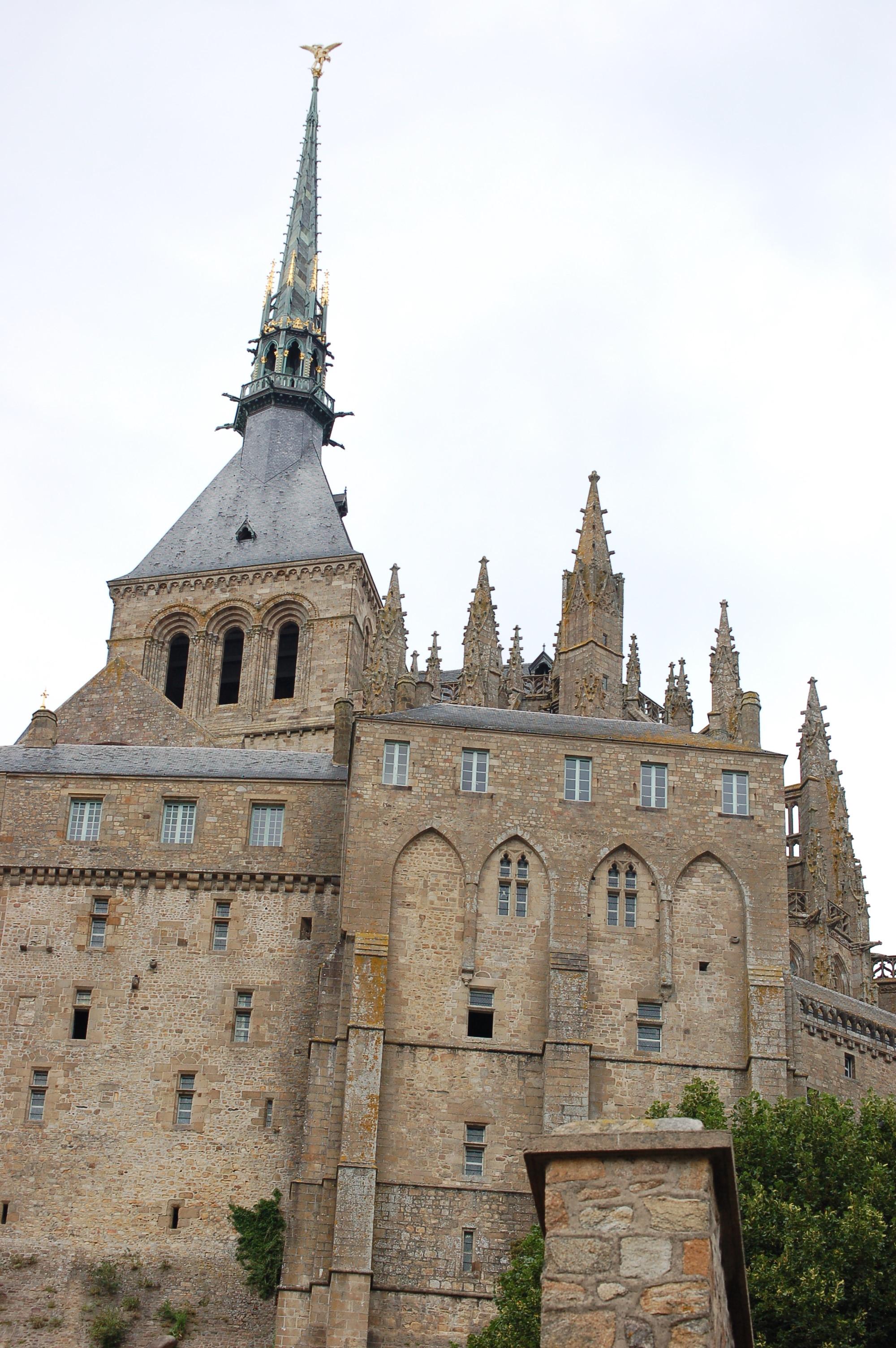 Věž kostela na St. Michael II.JPG