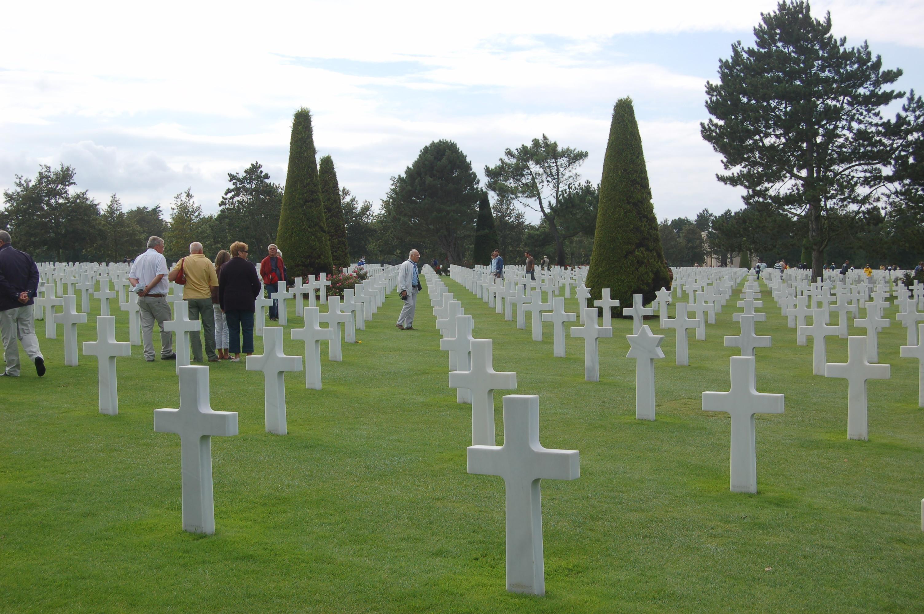 Hřbitov u Omaha Beach.JPG