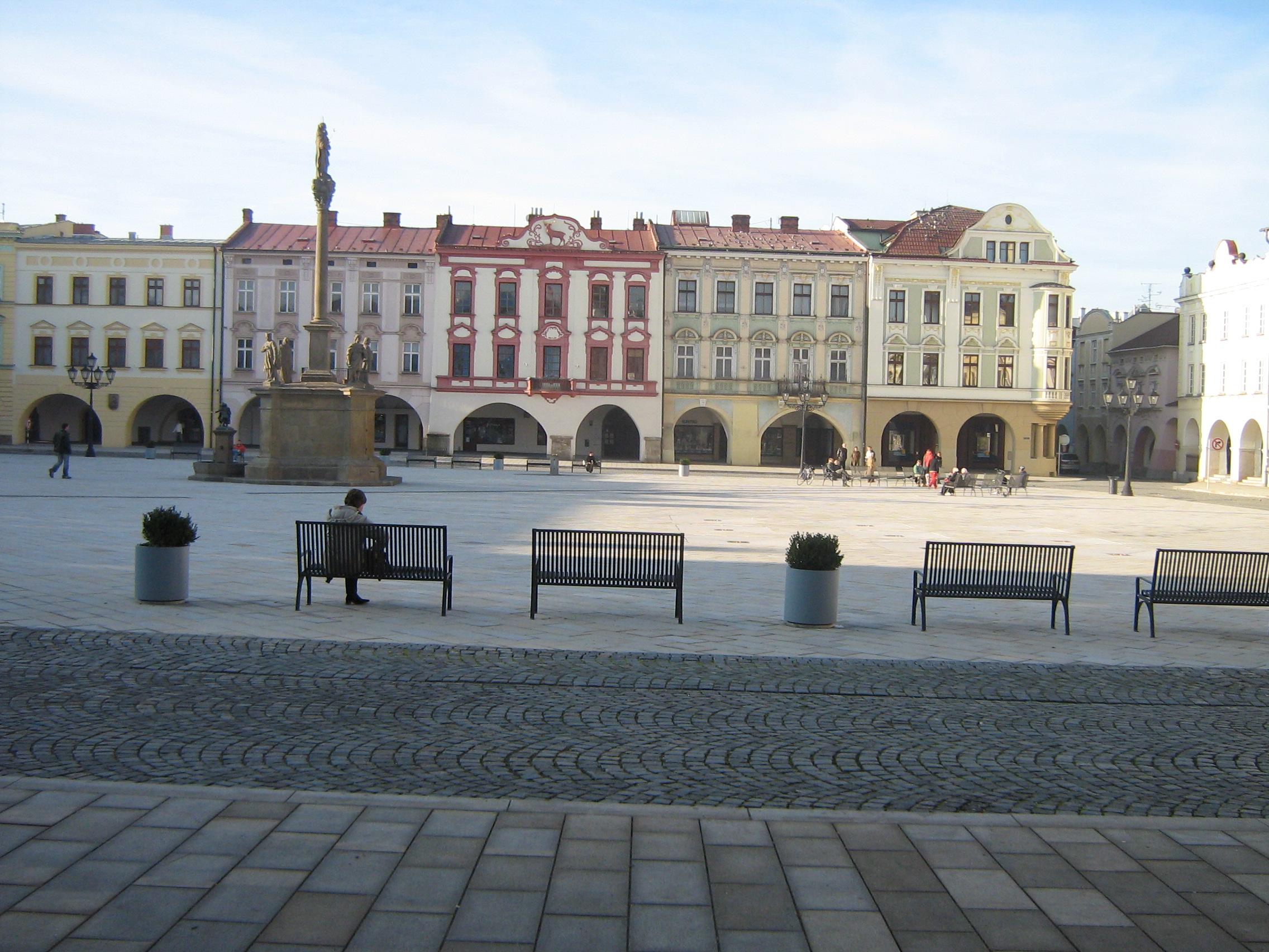 Nový Jičín Masarykovo náměstí
