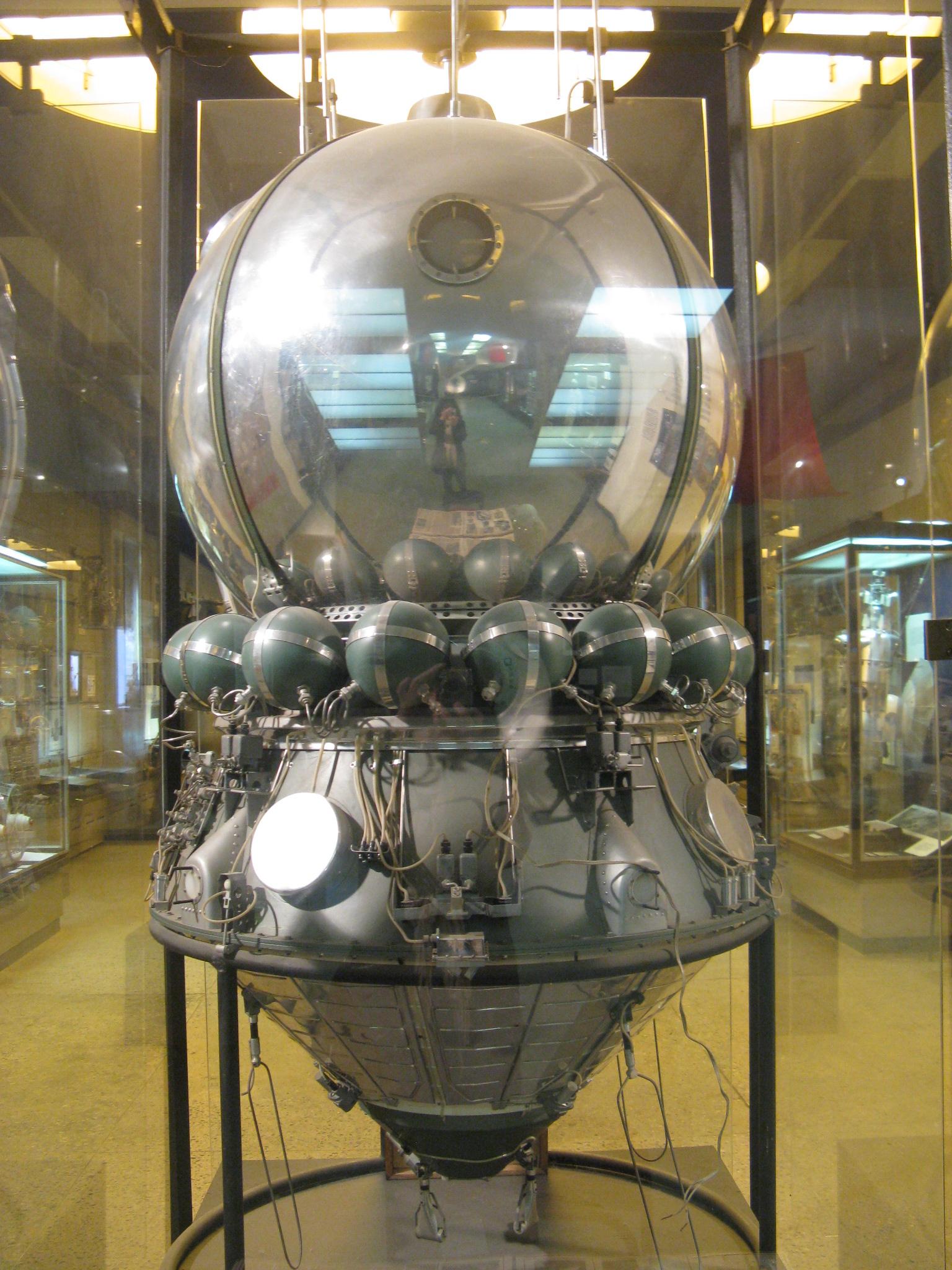 Maketa kosmiclé lodi Vostok (b.JPG