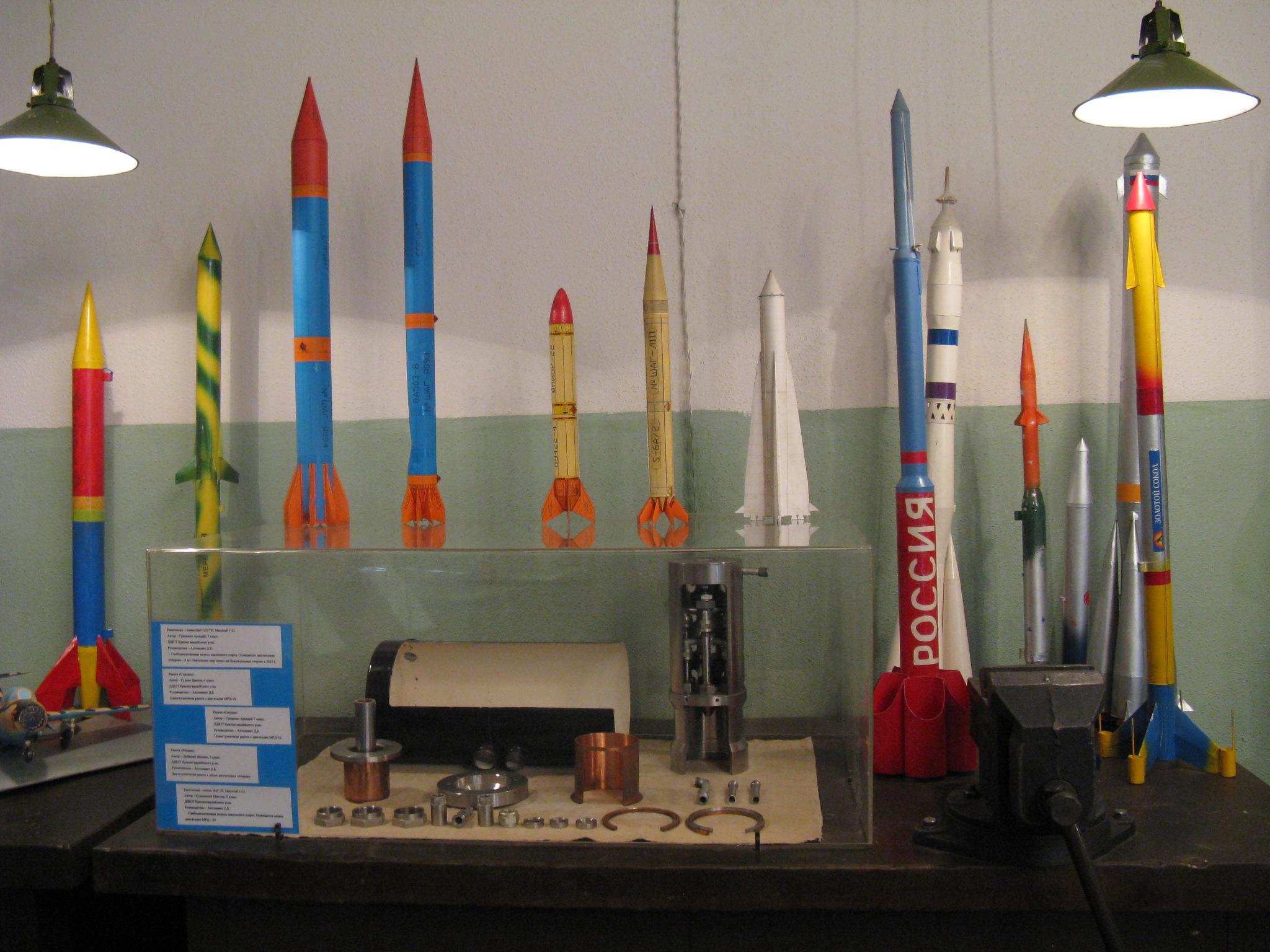 Různé létající modely raket.JPG