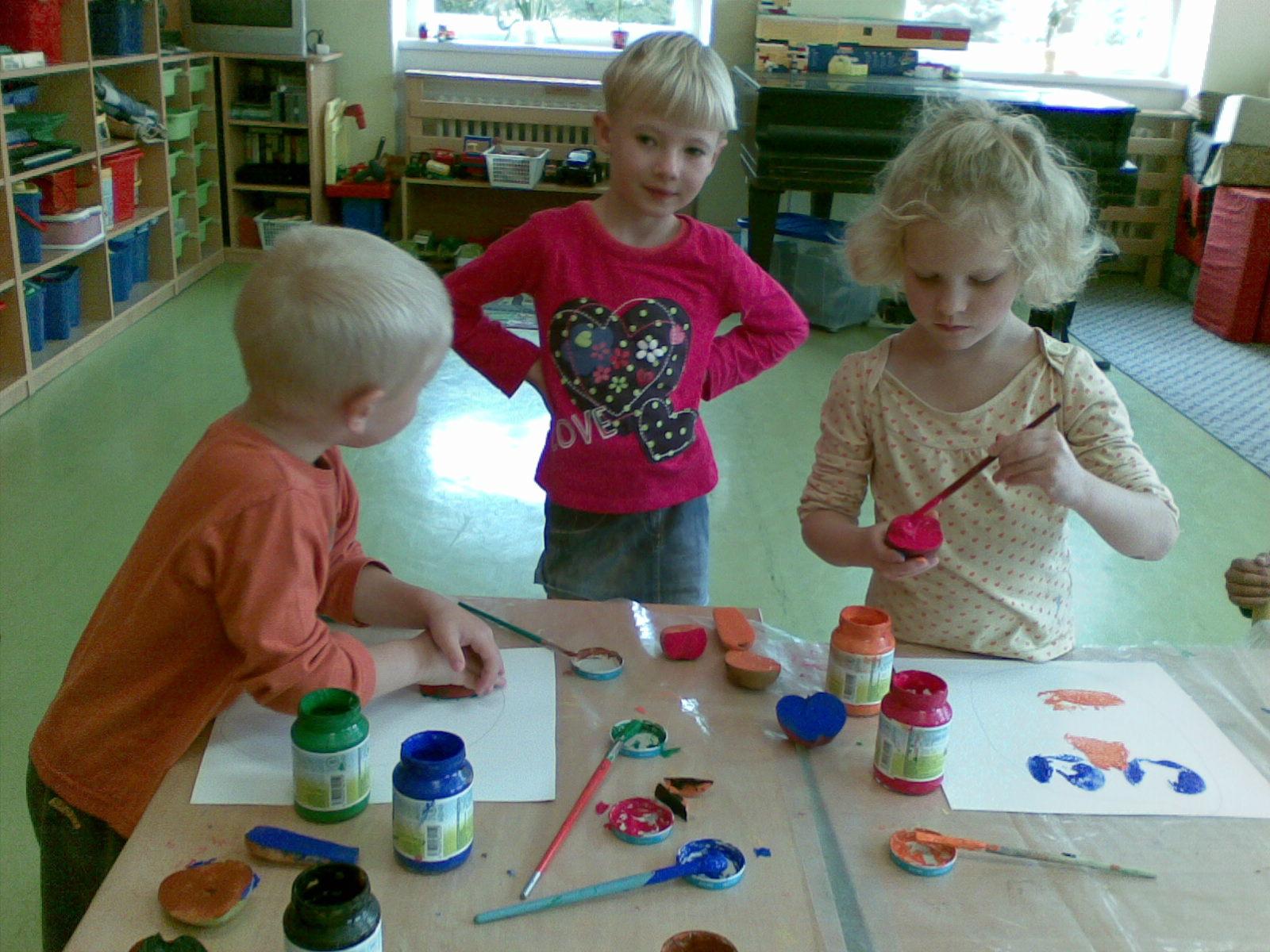 malujeme obličeje ovocem a zeleninou