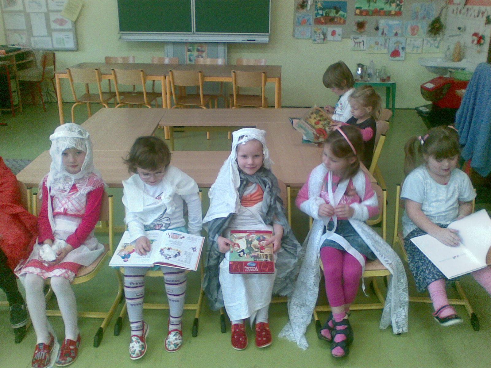 i princezny si čtou