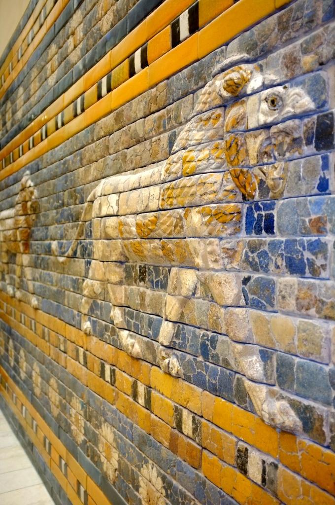 část Ištařiny brány v Pergamonském muzeu