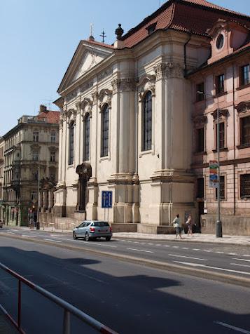 Kostel sv. Cyrila a Metoděje v Resslově ulici.