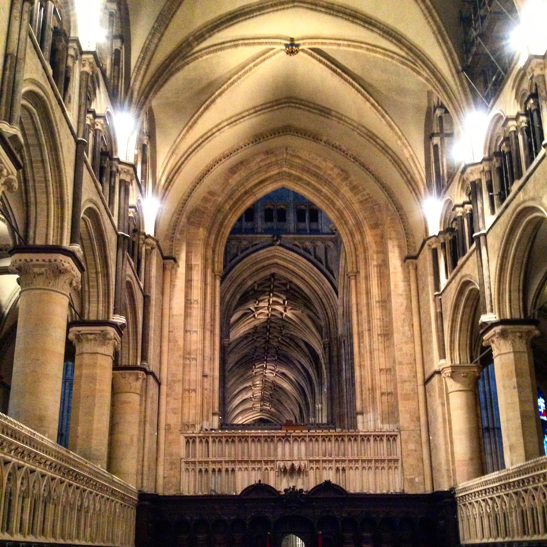 V katedrále
