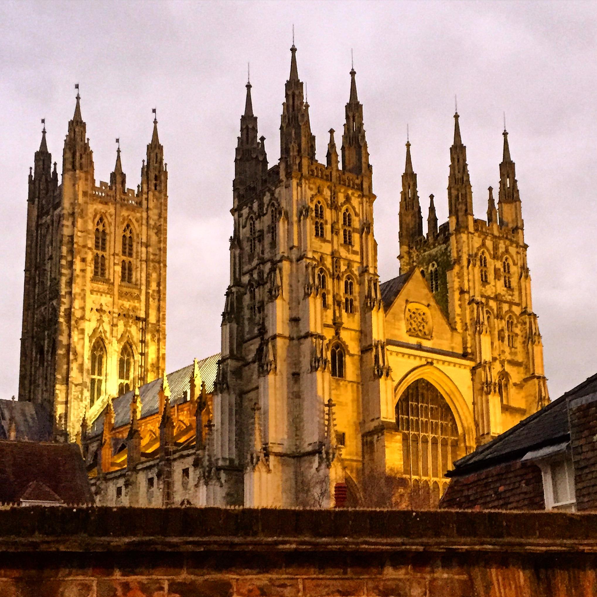 Katedrála v Canterbury