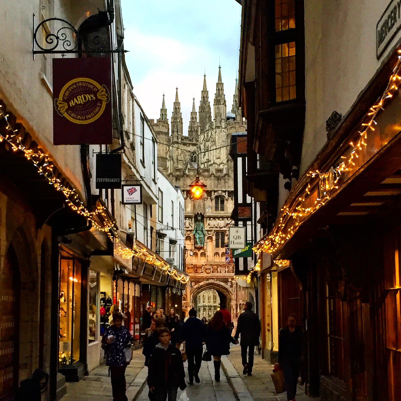 V uličkách Canterbury
