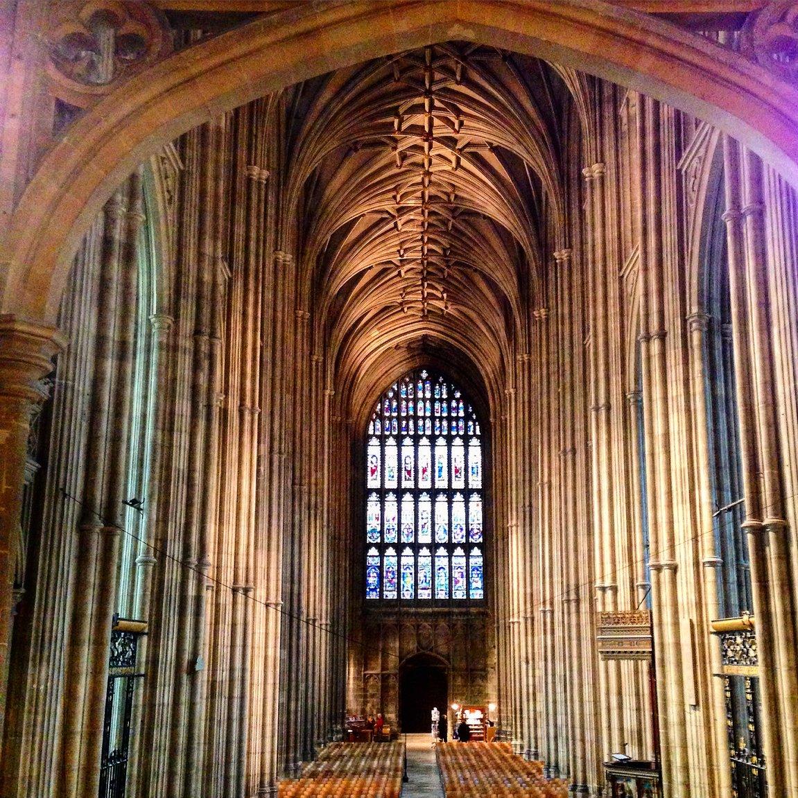 V katedrále - Canterbury