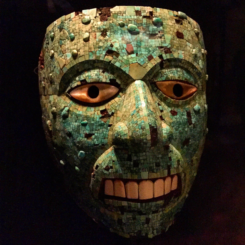 Aztécká maska