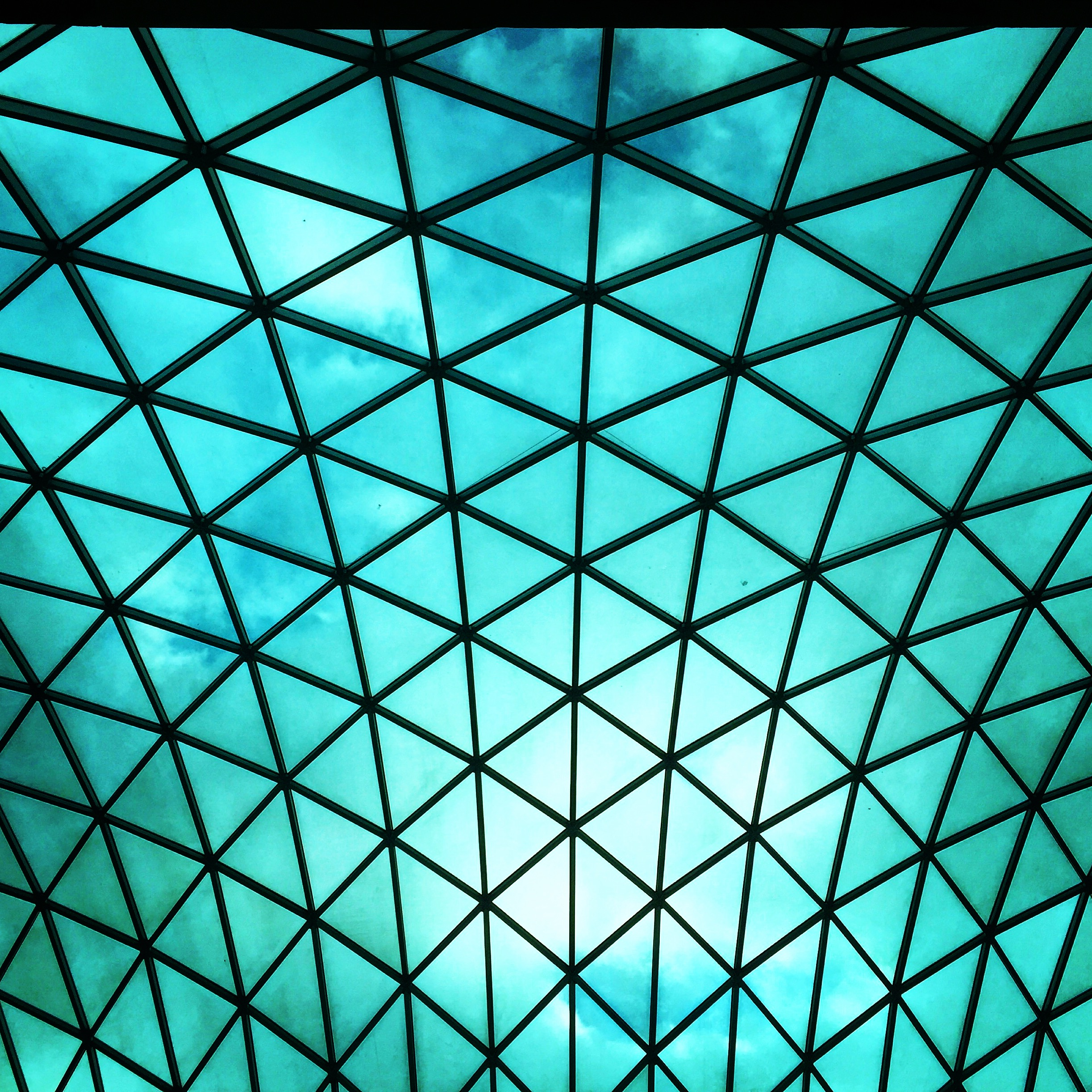 British muzeum - interiér dvorany