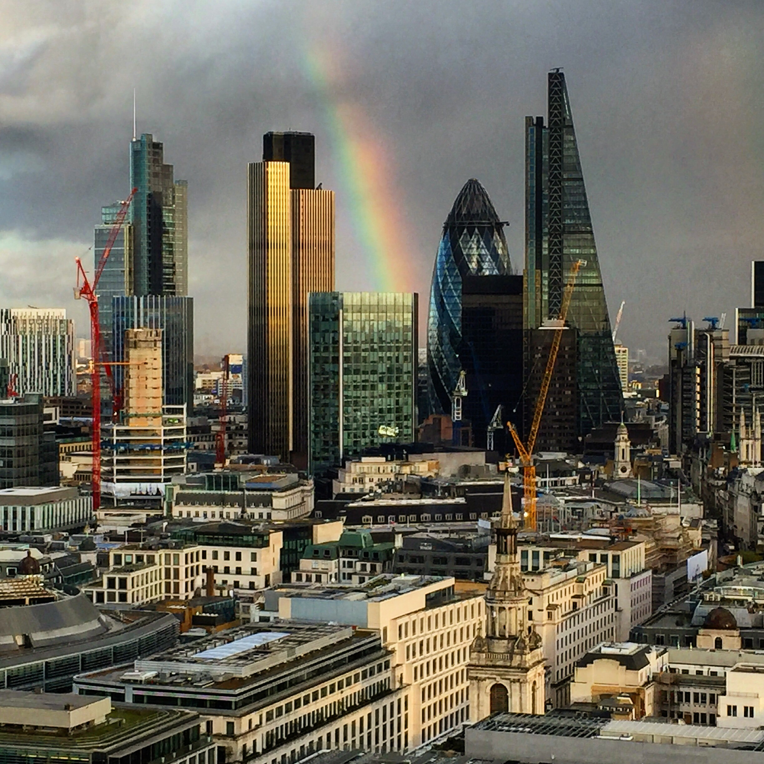 Duha na City of London