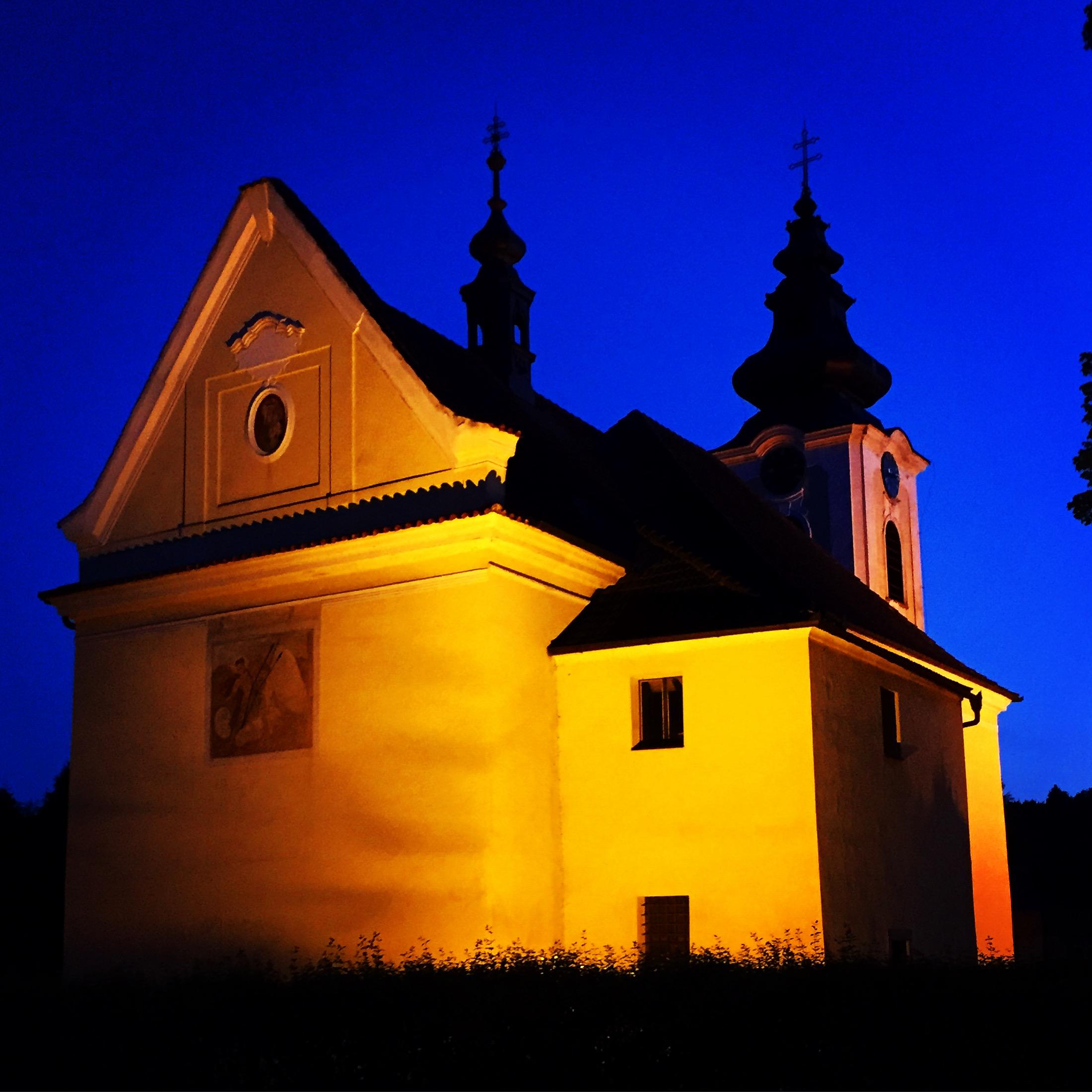 Planá nad Lužnicí - kostel sv. Václava