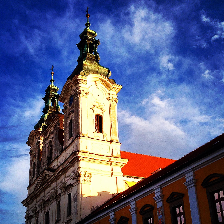 Uherské hradiště - kostel sv. Františka Xaverského