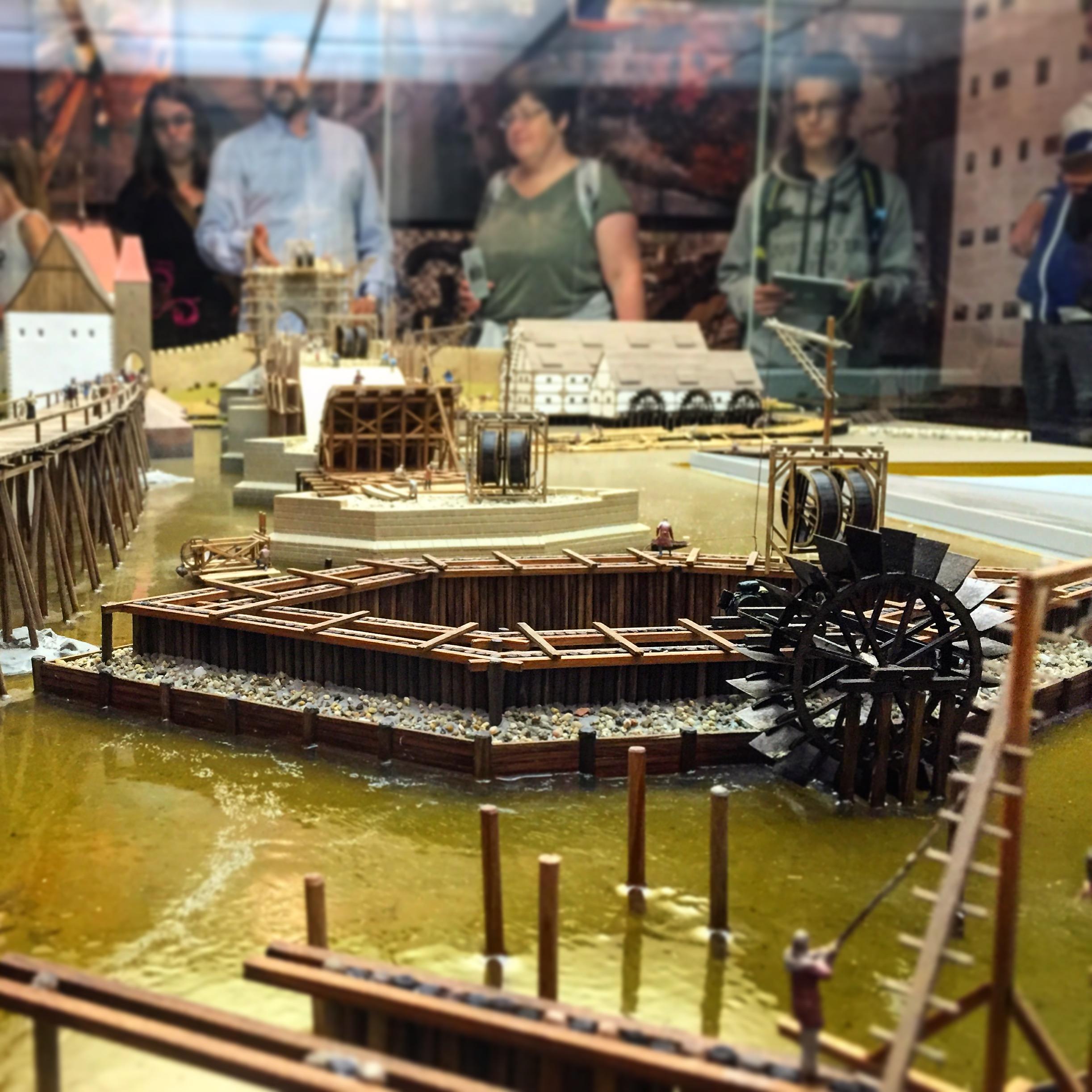 Muzeum Karlova mostu - model