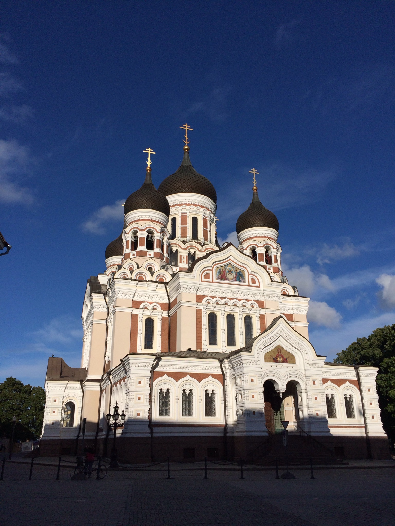 pravoslavný chrám Alexandr Něvskij