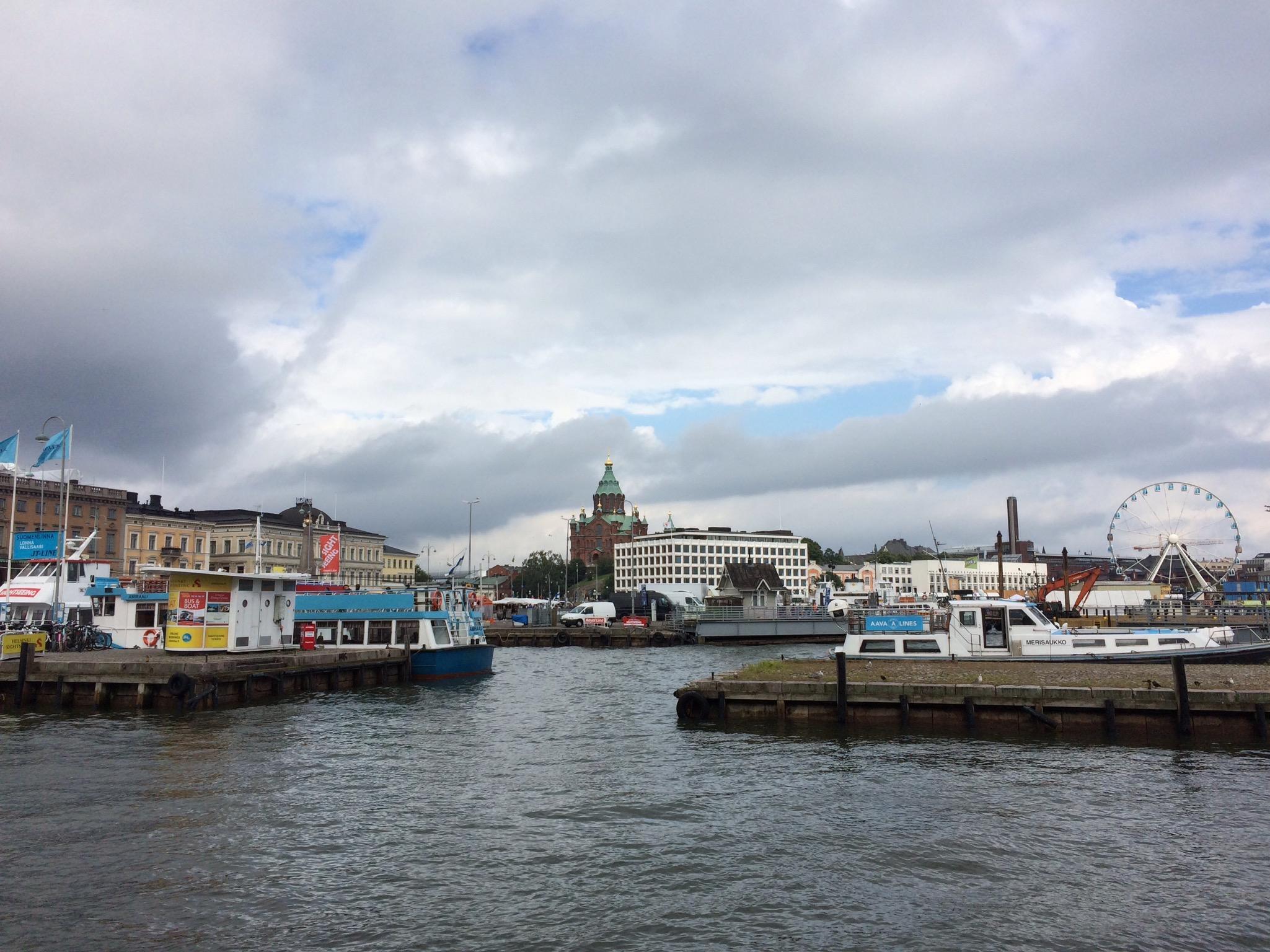 vjezd do přístavu