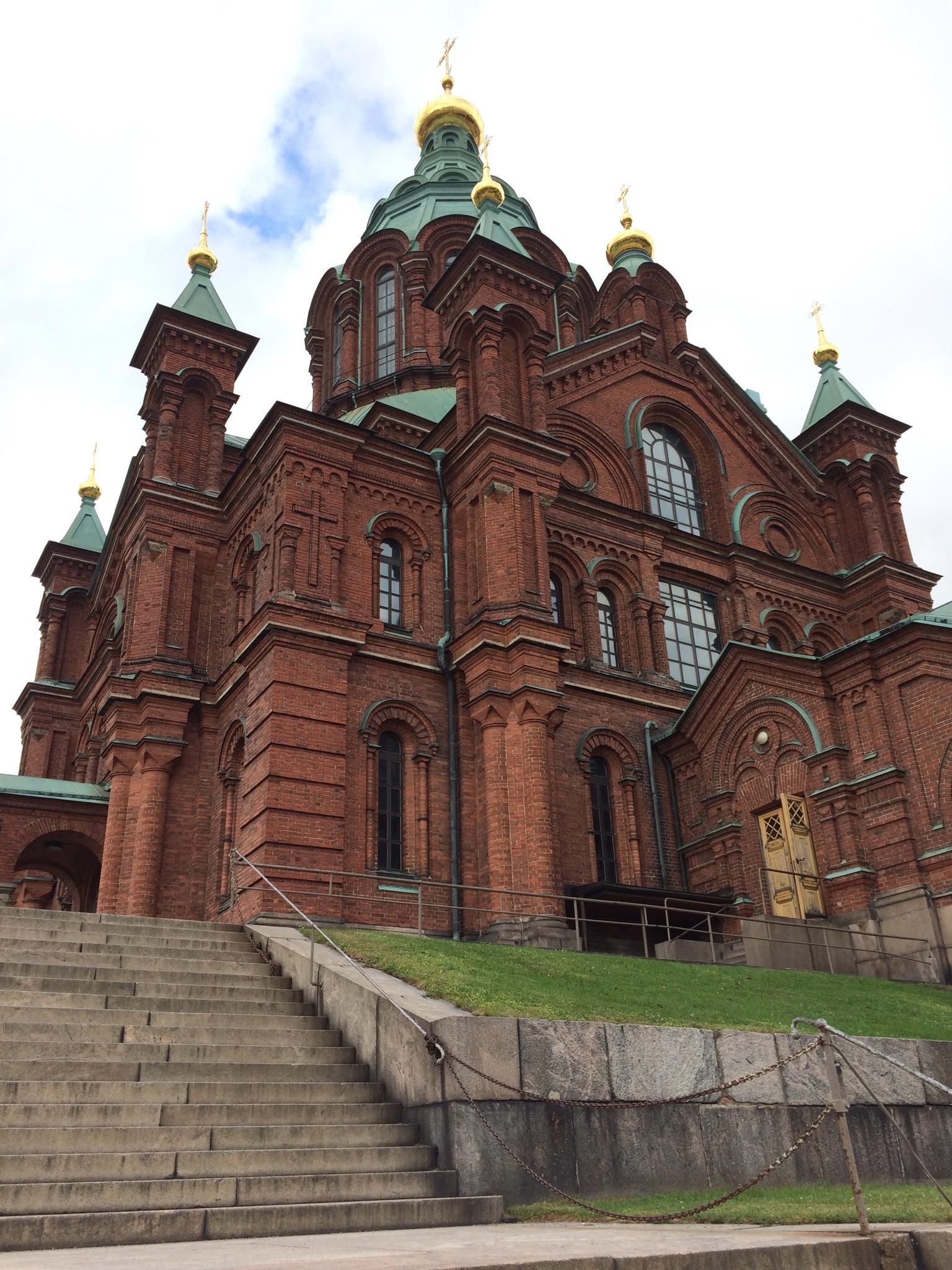 pravoslavný chrám Uspenski