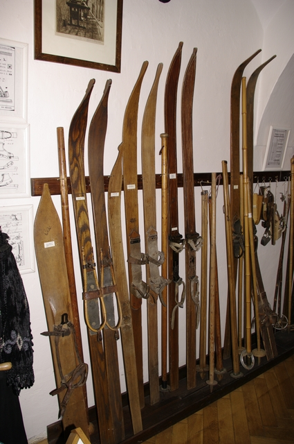 počátky lyžování 1