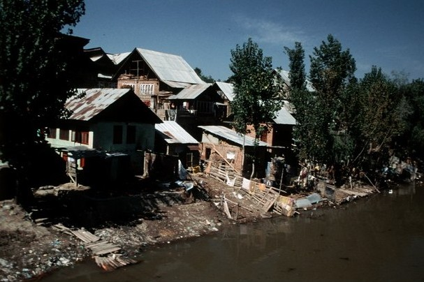 Kašmír starý Srinagar