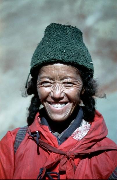 Zanskar místní žena