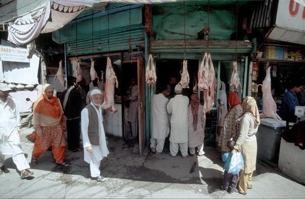 Kašmír - Srinagar tržiště