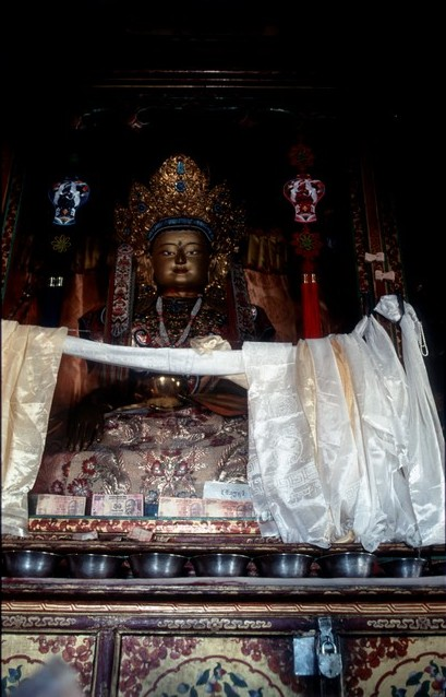 Budhistický klášter Spituk u Lehu