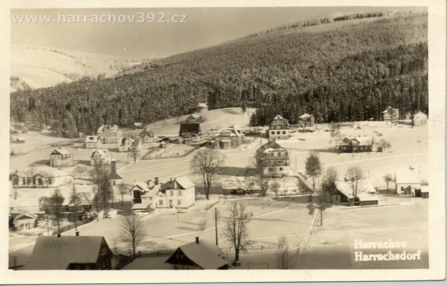 Hřebenka, zimní pohled, po roce 1934