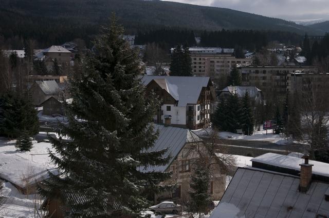 pohled na Nový svět ze Sachrova kopce 2010,